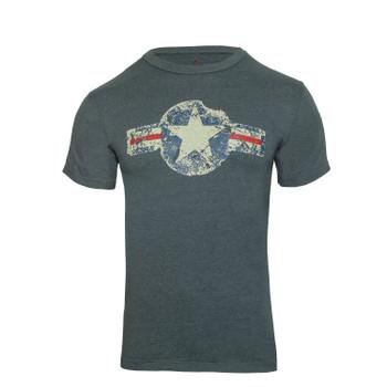 Rothco Vintage Army Air Corps T-Shirt Blue