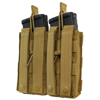 Condor DOUBLE M4/M16 OPEN TOP MAG POUCH