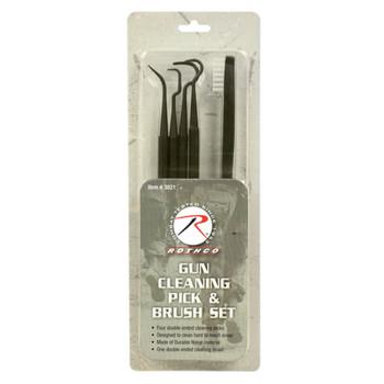 Rothco Gun Cleaning Pick & Brush Set
