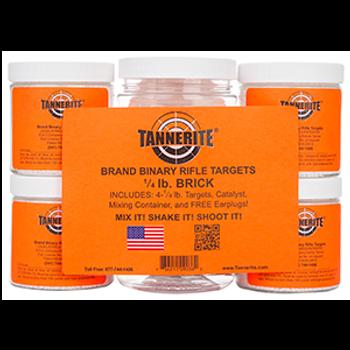 Tannerite® 1/4 pound Brick~ Single Brick Of Four 1/4 Pound Targets