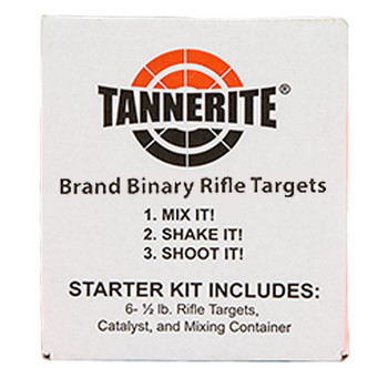 Tannerite® Starter Kit ~ Single Case of Six 1/2 Pound Targets