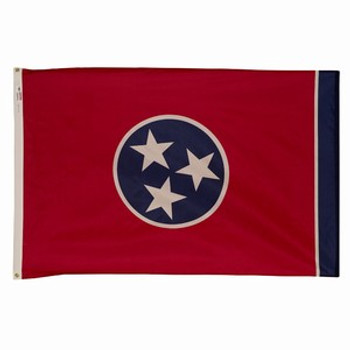 Valley Forge 3x5 Nylon Tennessee Flag