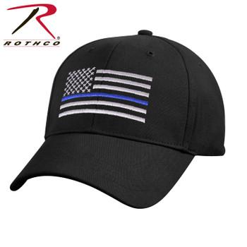 Low Profile Thin Blue Line Flag Cap