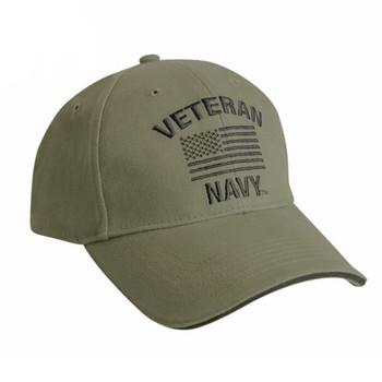 Rothco Vintage Navy Veteran Low Profile Cap