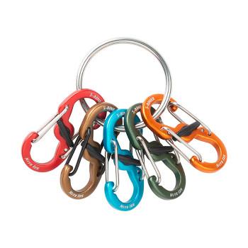 KeyRing Locker S-Biner Aluminum