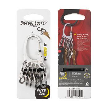 Bigfoot Locker  KeyRack (Stainless Steel)