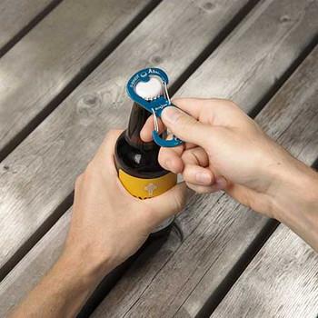 Ahhh... Aluminum Bottle Opener (olive)