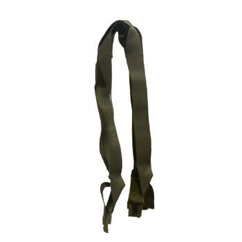 Vintage Original Military Cotton Cross-Back Suspenders