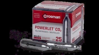 Crosman Powerlet Co2 Cartridges 25 ct.