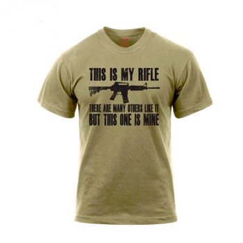 'This Is My Rifle' T-Shirt Tee