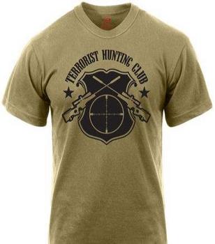 'Terrorist Hunting Club' T-Shirt