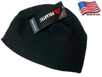 Original Military Issue Polartec Navy Microfleece Hat Black  Army Fleece Cap Beanie ECW