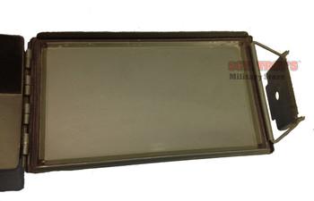 USGI FAT 50 CAL SAW METAL AMMO CAN 5.56MM 2.23MM PA-108 7.62MM VGC NSN