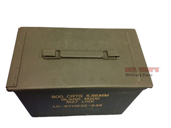 FAT 50 Cal Saw Box Metal Ammo Can 5.56MM 2.23MM PA-108 7.62MM Grade 2