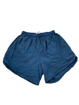 Soffe Military Navy Blue PT Shorts Performance Fitness Shorts Gently Used