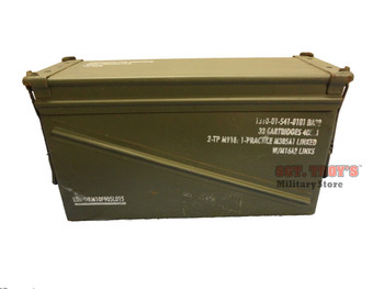 USGI 40mm AMMO CAN BA 20 100% STEEL LARGE AMMO CAN PA-120 VERY GOOD CONDITION