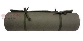 MILITARY ISSUE FOAM CLOSE-CELL CAMPING SHOOTING YOGA SLEEPING MAT BED ROLL VGC-E