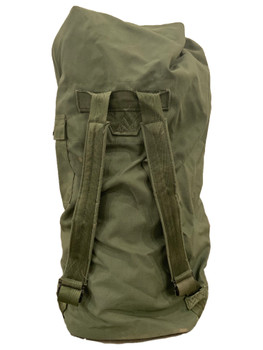 Military Duffel Sea Bag Navy Army Marine OD Green Very Good Condition