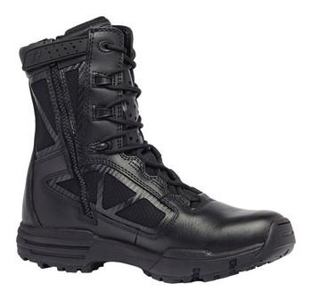 "Belleville Tactical Research Chrome TR998 Z WP CT 8"" Black Waterproof Side Zip Composite Toe Boot"