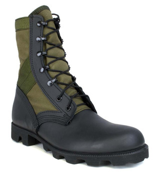 Original McRae Vietnam Era Jungle Boot OD Green Military Hot Weather USA Made