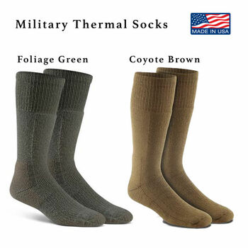 Fox River Military Thermal Cold Weather Boot Socks FoxSox 50% Merino Wool NEW