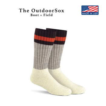 Fox River Boot and Field Outdoorsox Fully Insulated Thermal FoxSox 84% Wool NEW