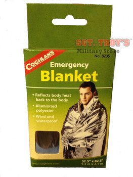COGHLAN'S EMERGENCY BLANKET Preppers Survival Blanket