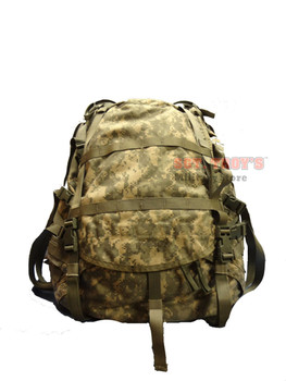 USGI ARMY ACU LARGE MOLLE II RUCKSACK WITH FRAME AND KIDNEY PAD EXCELLENT COND