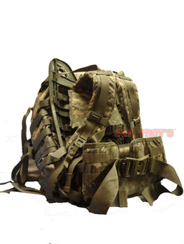 USGI ARMY ACU LARGE MOLLE II RUCKSACK WITH FRAME AND KIDNEY PAD Good to Very Good
