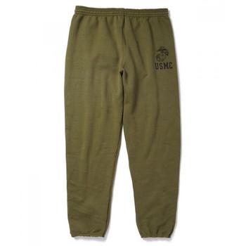Soffe USMC Authentic Marine Issue Heavyweight Sweatpants USA Made S M L XL 2 NEW