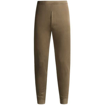 ECWS POLYPROPYLENE BOTTOMS SMALL THERMAL UNDERWEAR USGI SOLID BROWN POLYPRO