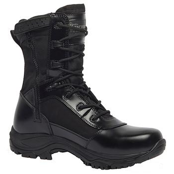 """Tr908z Color Belleville 8/"""" Hot Weather High Shine Side-Zip Boot Black"""