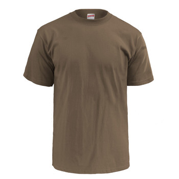 Soffe Woodland Brown 100% Cotton Ringspun