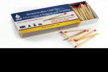 UCO Strike-on-Box Matches - 250 count