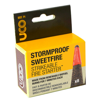 Stormproof Sweetfire Fire Starter - 8 Pack