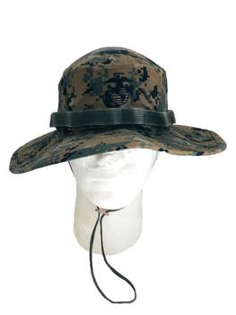 USMC Original Field Cover Marine Corps Boonie EGA Nylon/Cotton Twill US MADE New