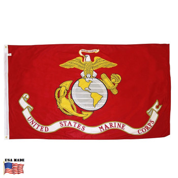 USMC Marine Corps Flag Nylon Made in USA