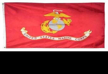 USMC Marine Corp Polyester Flag