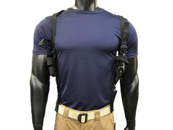 Ambidextrous Tactical Shoulder Holster - Black
