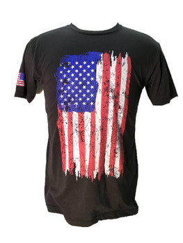 Rothco Distressed Flag T-Shirt in Full Color