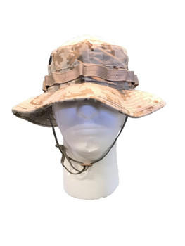 Original Military Issue Boonie Bush Hat 50/50 Nylon Cotton Made in USA