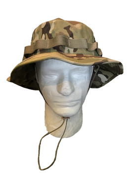 Genuine Army Issue Boonie Bush Hat OCP Scorpion Multicam 50/50 Nylon Cotton US MADE New