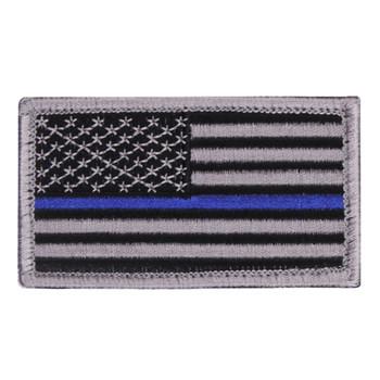 Blue Line Flag Patch w/Velcro