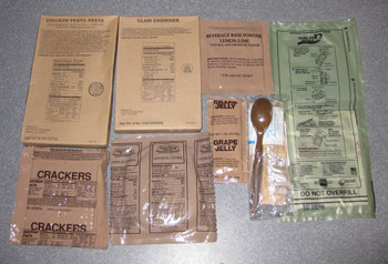 MRE Case of 12 Meals Sopakco or Similar Fresh and Fancy with Heaters
