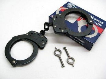 Smith & Wesson 100-1B Black Handcuffs