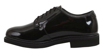 Rothco Uniform Hi-Gloss Oxford Patten Leather Dress Shoe