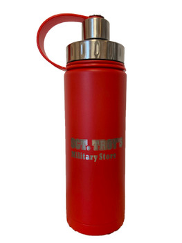EcoVessel The Boulder 20oz Insulated SGT TROYS Bottle with Infuser