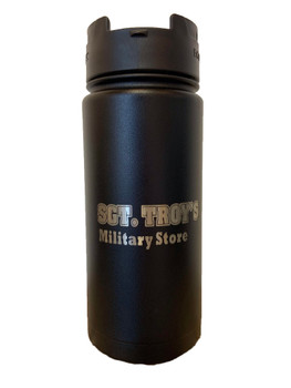 EcoVessel The Perk 16oz Insulated SGT TROYS Bottle