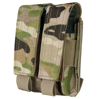 The Condor Pistol Mag Pouch fits almost any pistol magazine. The adjustable flap is also ideal storage for utility items and small tools