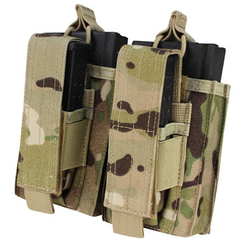 "Overall size: 4.75""H x 7""W x 1""D Mag Capacity: Two M14 mags Two pistol mags Available in: MultiCam® (008)"